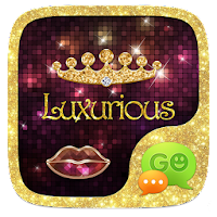 GO SMS LUXURIOUS THEME 1.0