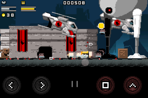 Gunslugs- screenshot