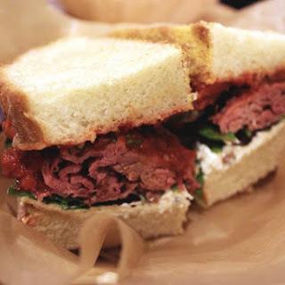 The Lamb Sandwich.