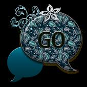 GO SMS THEME/AquaLeaves4U