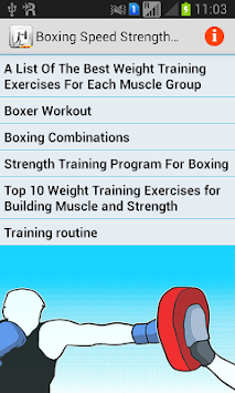 Download Boxing Speed Strength Workouts APK latest version