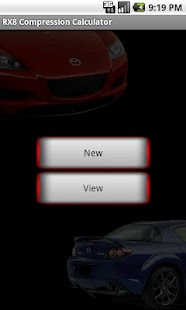 RX8 Compression Calculator - screenshot thumbnail