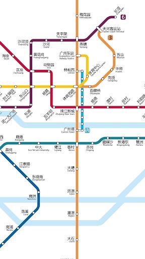 【免費交通運輸App】广州地铁路线图-APP點子