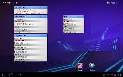 Pure Calendar widget (agenda) v3.4.8 Mod APK 4