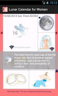 Lunar Calendar for Women - náhled