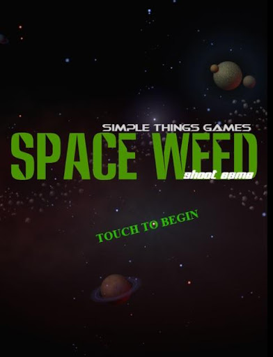 Space Weed Shoot Game