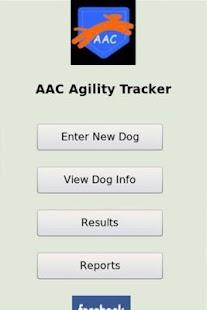 AAC Agility Tracker- screenshot thumbnail