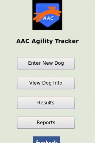 AAC Agility Tracker- screenshot