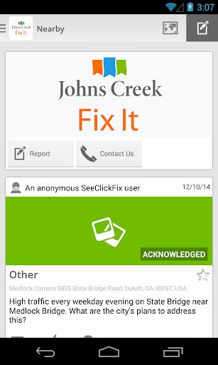 Johns Creek Fix It