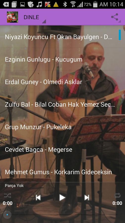 Özgün müzik ve türküler screenshot