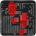 Red Steps 3D icon