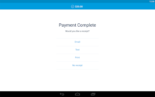 PayPal Here: Get Paid Anywhere- screenshot thumbnail