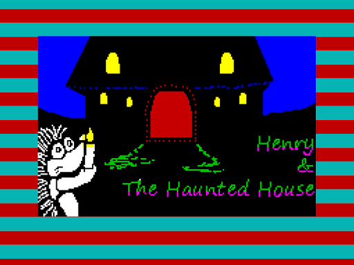 Henry Hedgehog - Haunted House