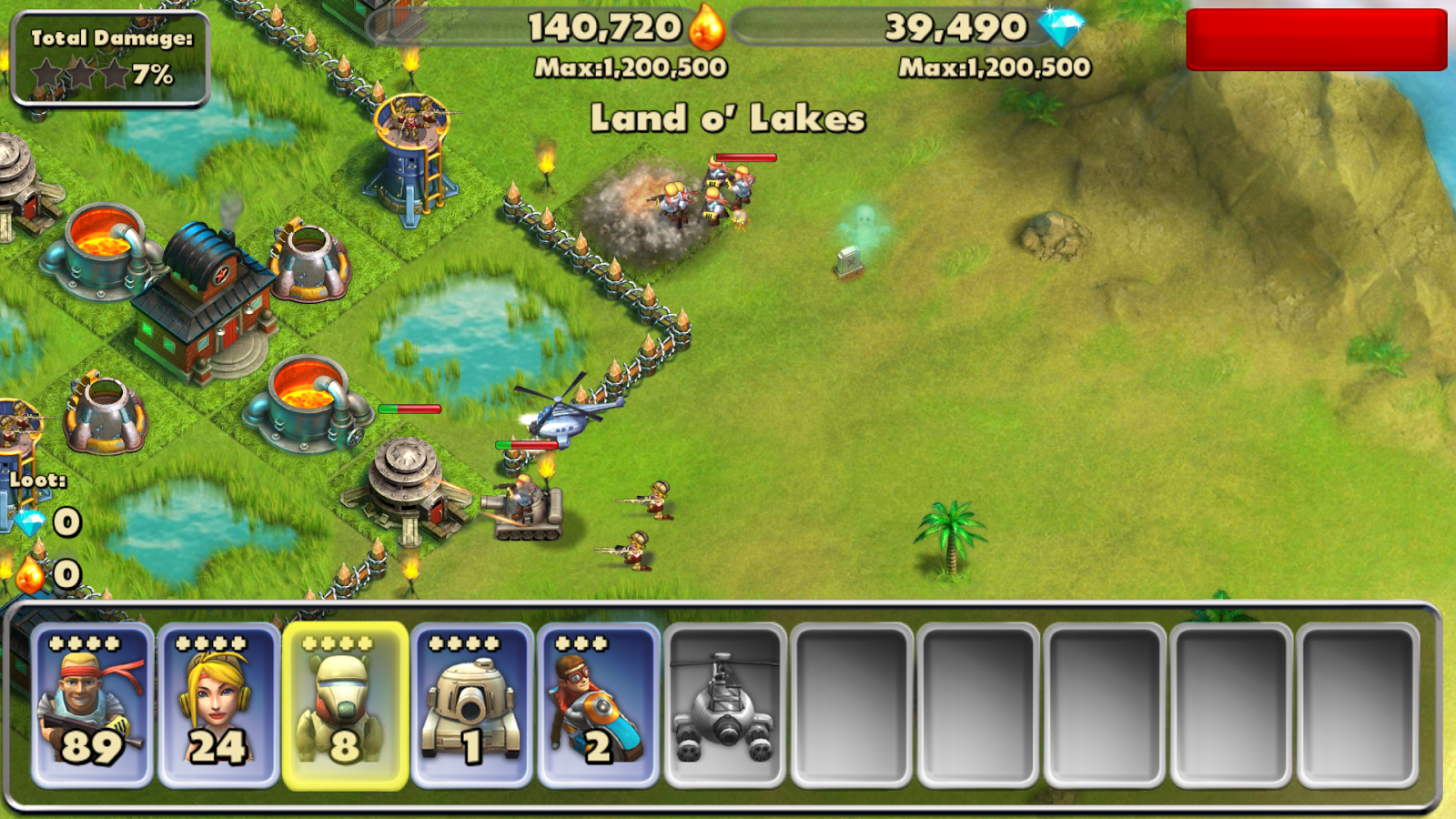 Battle Beach- screenshot