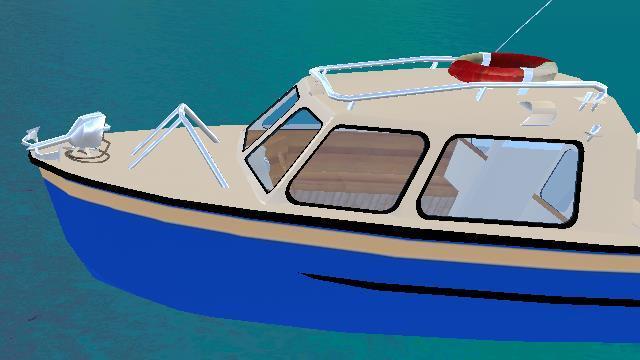 Boat Driver 3D - screenshot