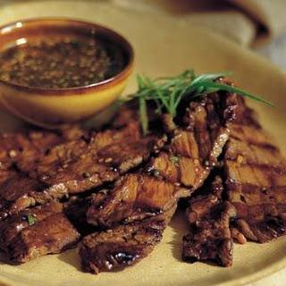 Korean Barbecued Beef.