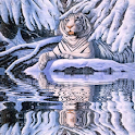 Frozen Tiger Live Wallpaper