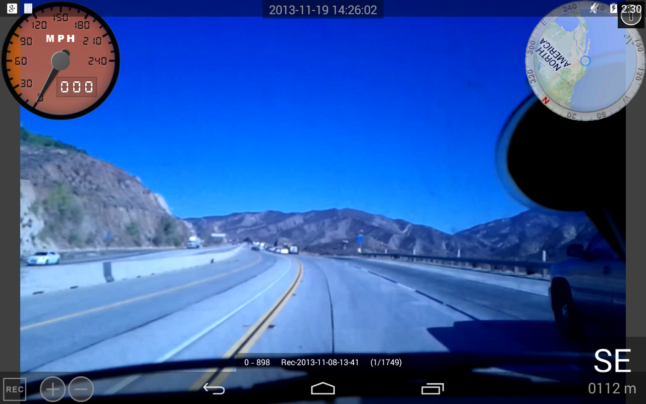 Dashboard Cam- screenshot