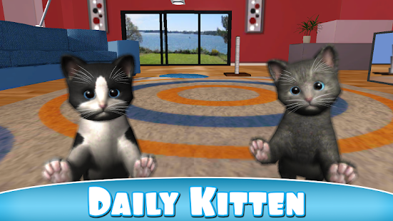 Daily Kitten : virtual cat pet- screenshot thumbnail