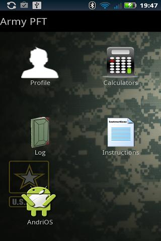 Army PFT- screenshot