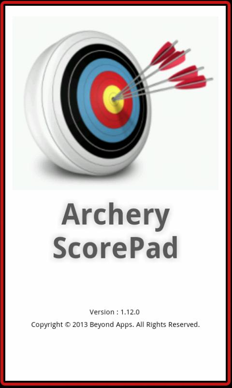 Archery ScorePad - screenshot