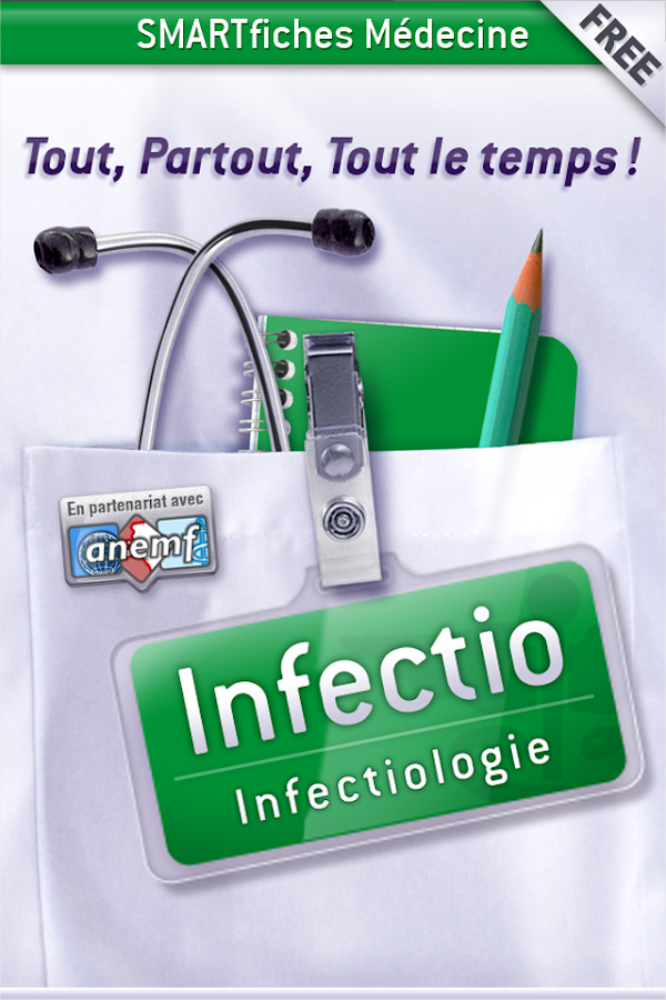 SMARTfiches Infectiologie Free- screenshot