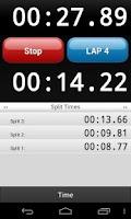 Screenshot of Talking Stopwatch Pro