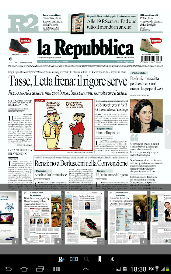 La Repubblica+ - screenshot