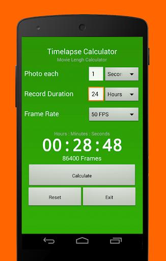 TimeLapse Calculator pro