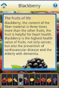 Top Ten healthy fruit - screenshot thumbnail