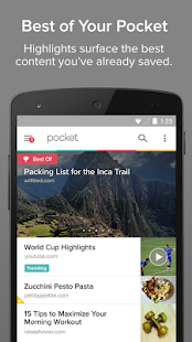 Pocket - screenshot thumbnail