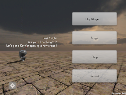 Lost Knight - 3D action- screenshot thumbnail