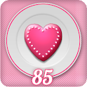 Heart Cake Battery Widget logo