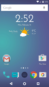 Chronus: Abhra Weather Icons screenshot 0
