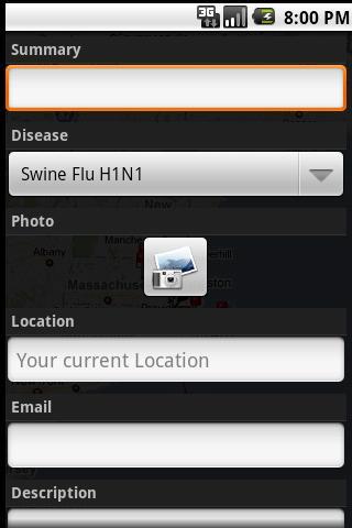 Swine Flu: Outbreaks Near Me- screenshot