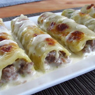 Meat Cannelloni.