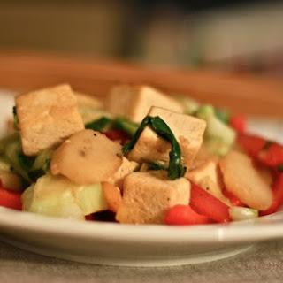 Bok Choy, Red Pepper & Tofu Stir Fry