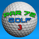 Par 72 Golf HD logo