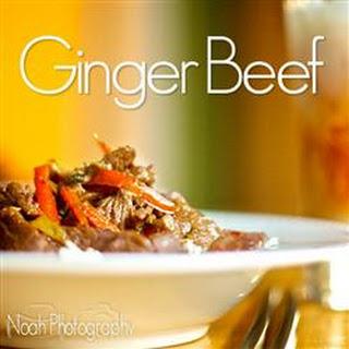 Stir-Fried Ginger Beef.