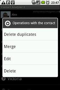 Contact Analyzer 2 - screenshot thumbnail