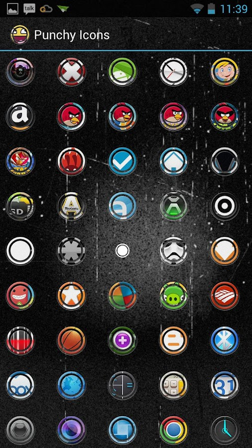 Punchy Icon Pack - screenshot