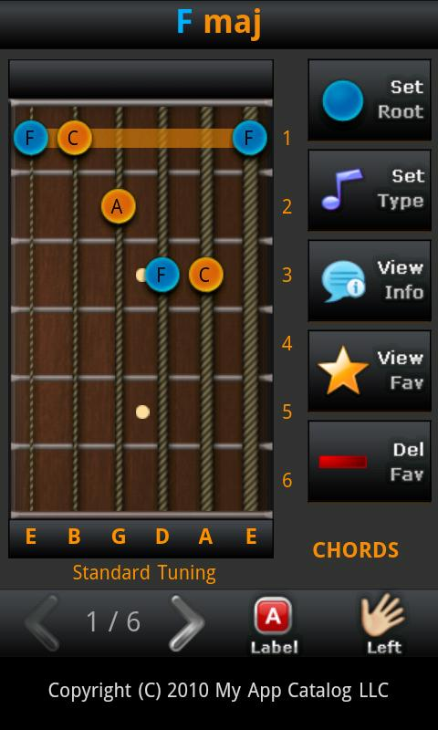 All Guitar Chords- screenshot