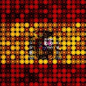 LED Spain Flag Wallpaper
