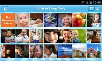 Screenshot of LDS Children's Sing-Along