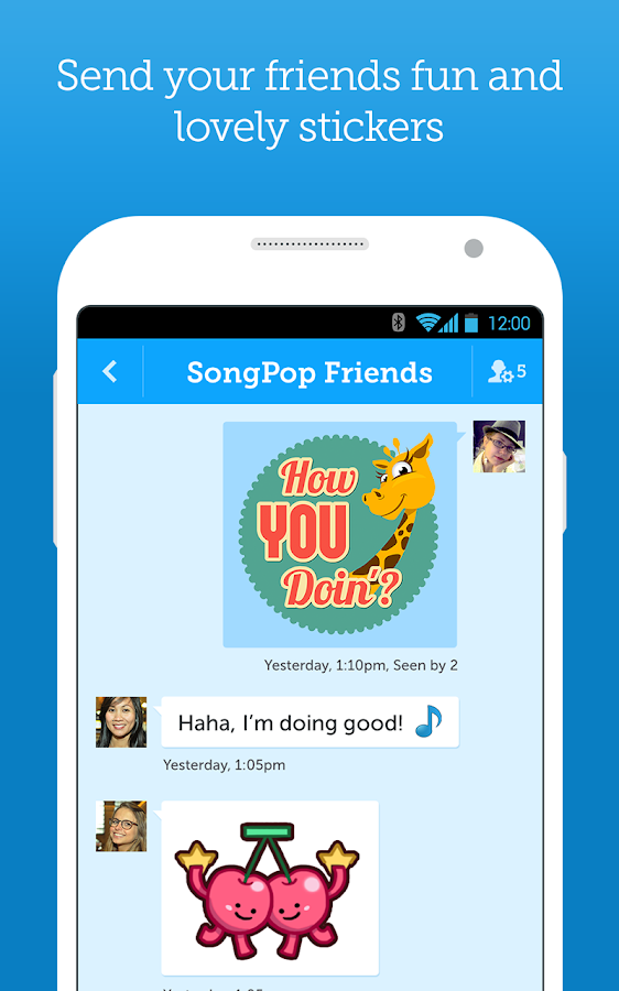 HelloPop Old - screenshot