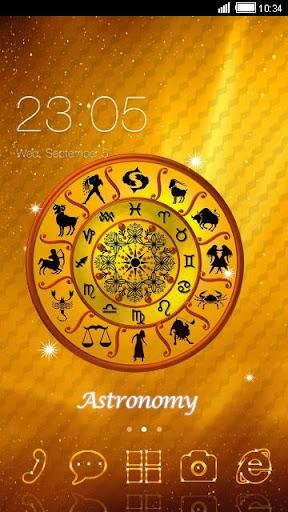 Horoscope C Launcher Theme
