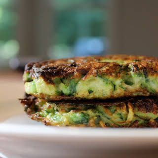 Herbed Zucchini Fritters.