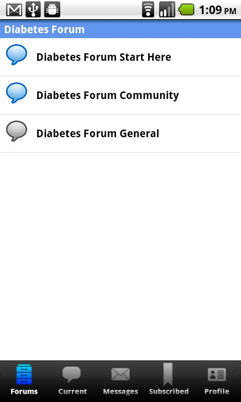 Diabetes Forum For Diabetics - screenshot