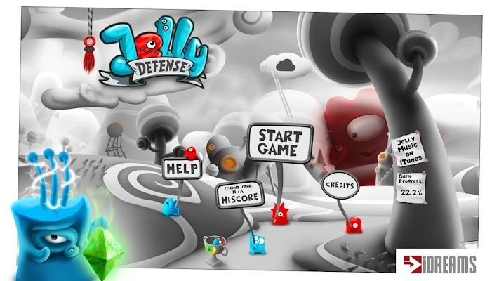 Jelly Defense - screenshot