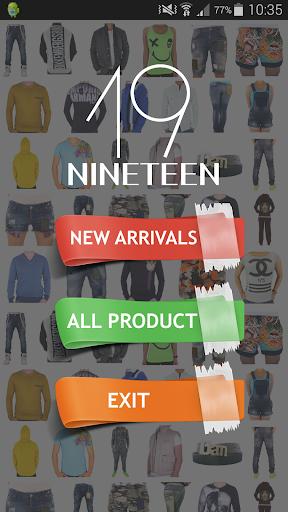 【免費購物App】19 Nineteen-APP點子